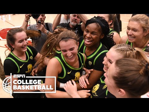 Sabrina Ionescu makes history in Stanford vs. Oregon | Women's College Basketball Highlights