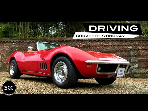 CHEVROLET CORVETTE STINGRAY (C3) Cabriolet 1969 - Test Drive in top gear | SCC TV
