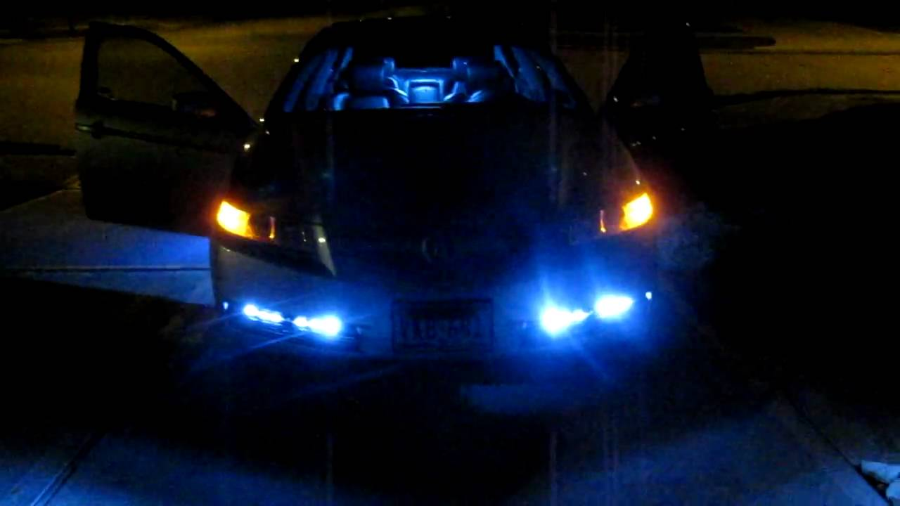 Acura Tl Strip Led Lights And White Interior Dome Lights