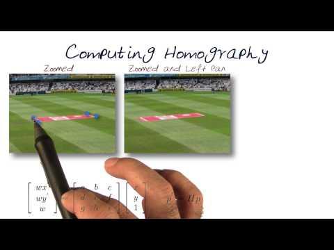 Computing Homography - YouTube