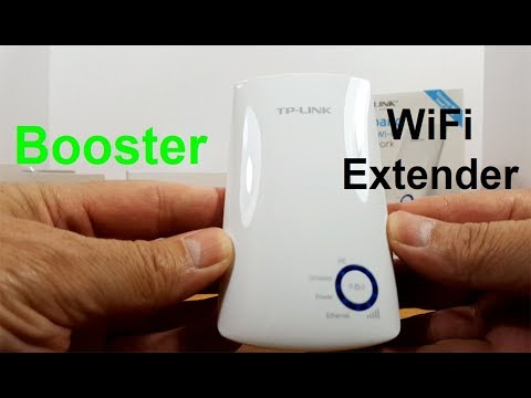 TP Link WiFi range Extender - Wifi Repeater setUp & reView - WiFi ExTender for Gaming