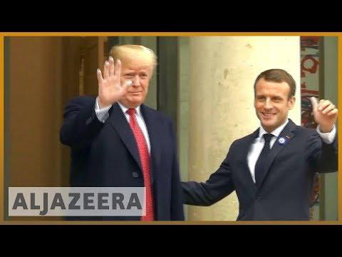 🇫🇷🇺🇸 Macron, Trump in show of unity after row over European security | Al Jazeera English