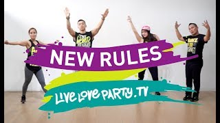 New Rules by Dua Lipa | Zumba® | Live Love Party™ | Dance Fitness thumbnail