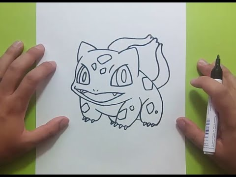 Como Dibujar A Bulbasaur Paso A Paso Pokemon How To Draw