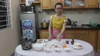 BBcooker 3: Cách nấu món cháo thịt lợn cà rốt cho bé từ 6-8 tháng tuổi