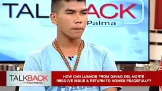 Plight of Lumads ! PLEASE HELP THEM FROM COMMIE BAYAD MUNA