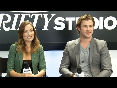 Chris Hemsworth and Olivia Wilde Rush Interview - TIFF 2013