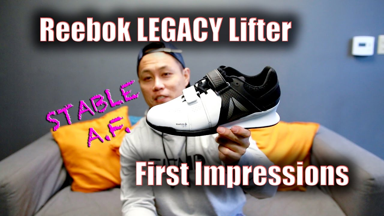 Reebok Legacy Lifters First Impressions! - YouTube cd8ba0df3