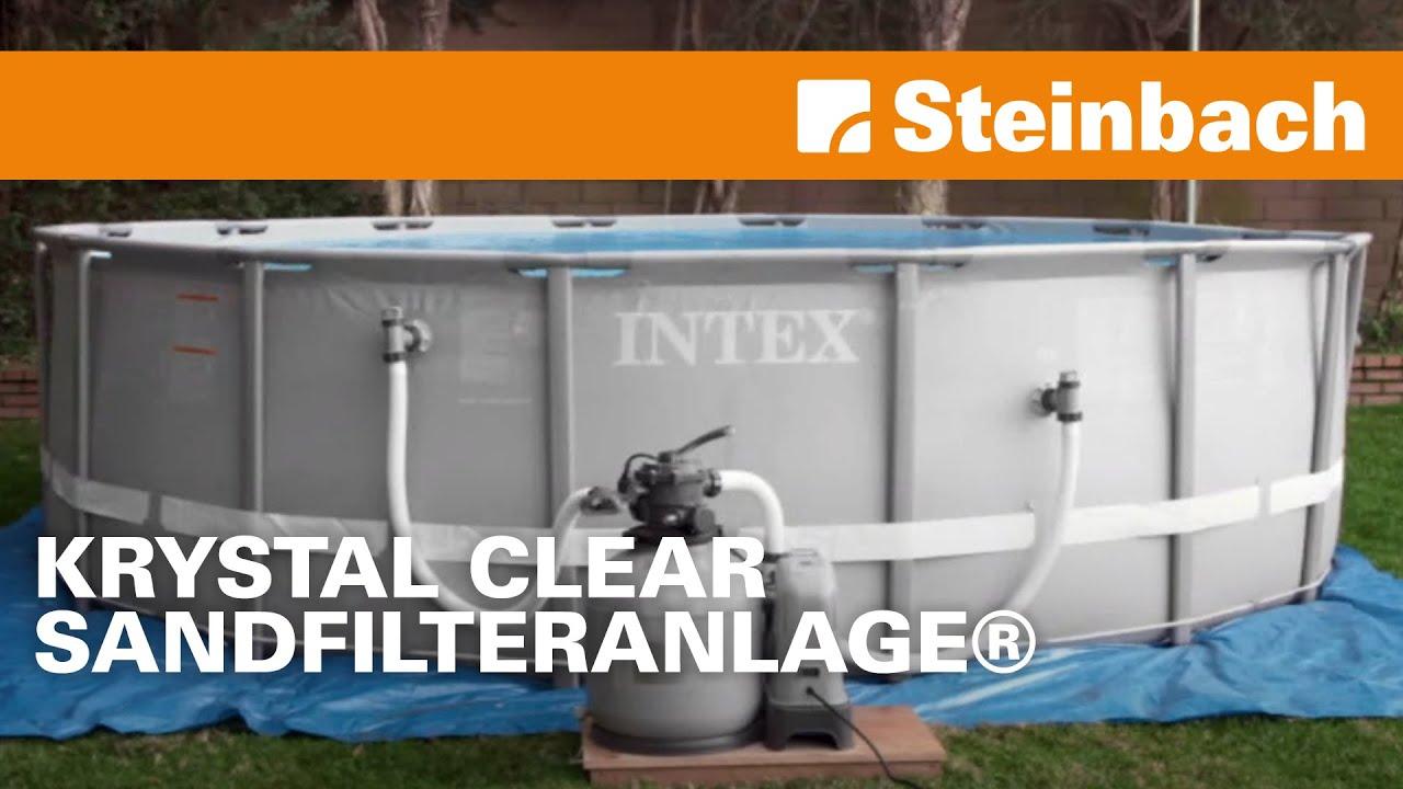 krystal clear sandfilteranlage® & salzwassersystem eco 15220 + eco