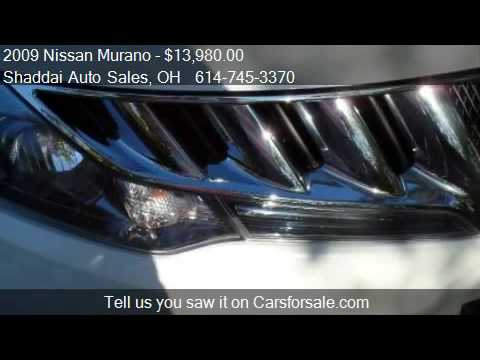 2009 Nissan Murano S 4dr SUV for sale in Whitehall, OH 43213