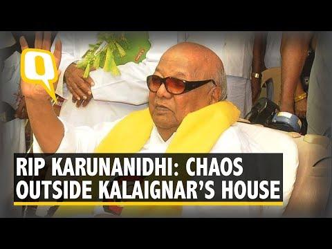 Sun sets on Dravida Munnetra Kazhagam with Karunanidhi's demise | The Quint