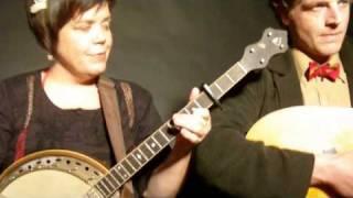 Korby Lenker and Julie Lee sing