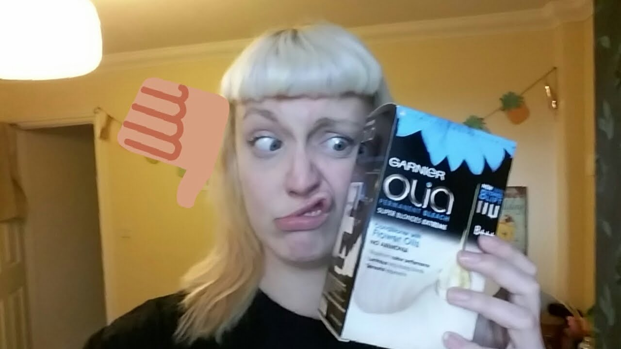 roxie reviews garnier olia bleach yay or nay youtube. Black Bedroom Furniture Sets. Home Design Ideas