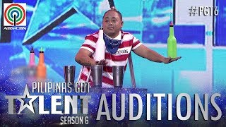 Pilipinas Got Talent 2018 Auditions: Mark Montaño - Flair Bartending