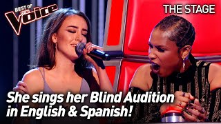 Clara Hurtado sings 'Latch' by Disclosure ft. Sam Smith   The Voice Stage #63