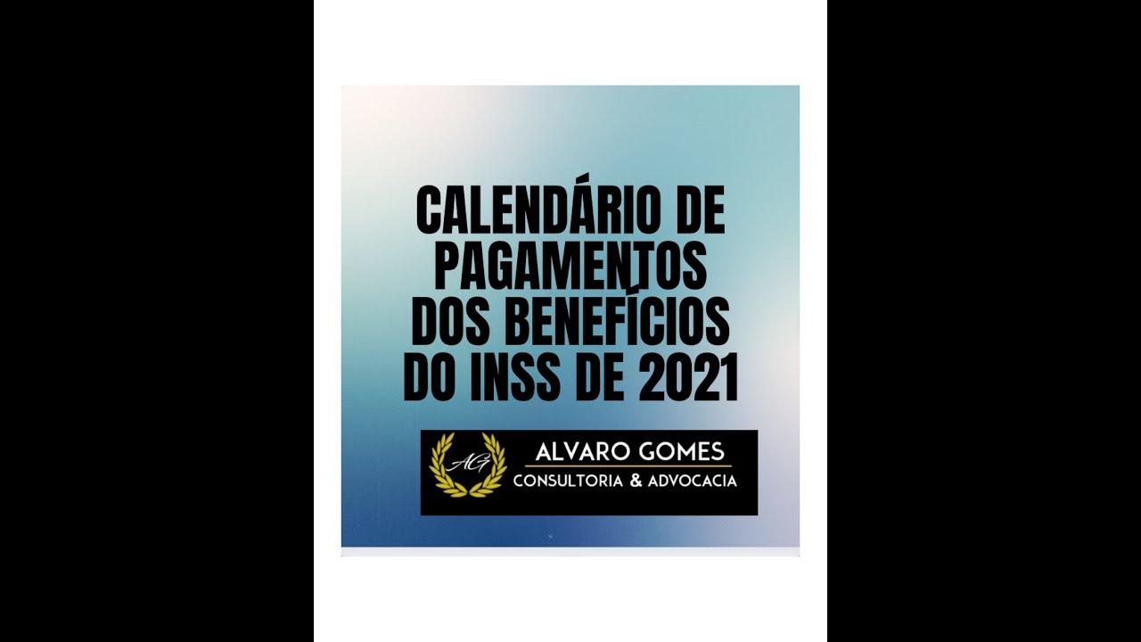Calendário de Pagamentos de Benefício do INSS