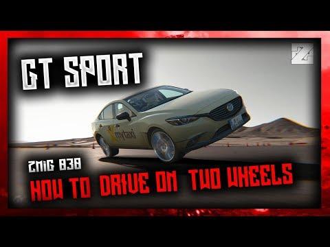 GT SPORT: HOW TO DRIVE ON 2 WHEELS TUTORIAL |B¥ ZMiG 030