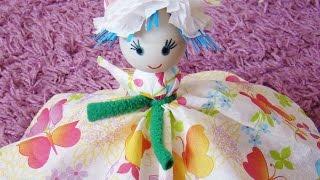 как сделать куклу из салфеток своими руками