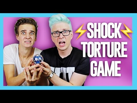 The Shock Torture Game (ft. Joe Sugg) | Tyler Oakley