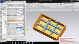 Training NX 11 lesson 3 _ Extrude in NX