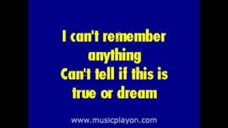 Metallica - One - (Karaoke Version)