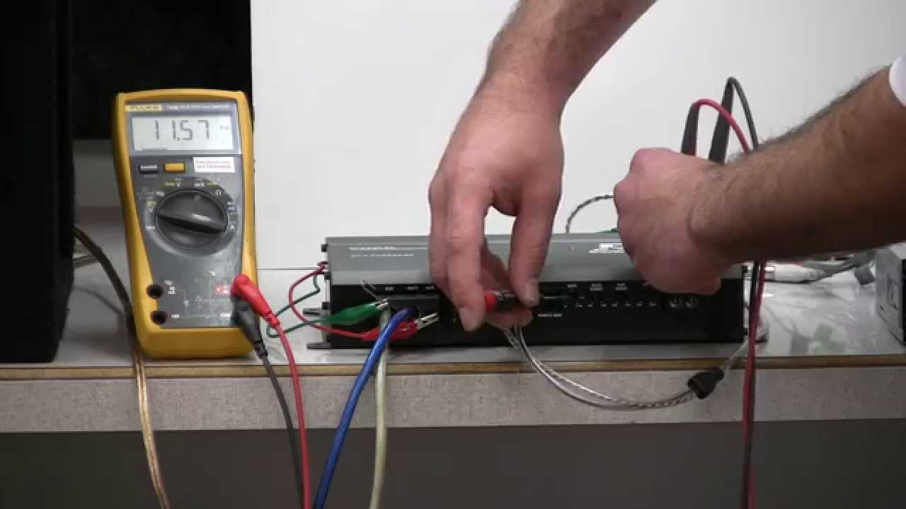How To Set Your Gains Using Ohms Law And A Basic Multimeter Youtube Jvc Head Unit Eq Amp Wiring Diagram