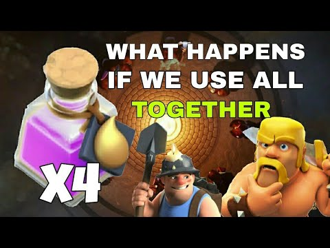 WHAT HAPPENS IF WE USE ALL RESOURCE POTIONS TOGETHER
