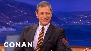 Jeff Goldblum Is Just Like Sherlock Holmes - CONAN on TBS