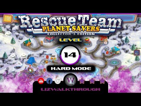 Rescue Team 11 - Level 14 Walkthrough (Planet Savers)  