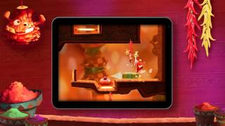 Rayman Fiesta Run -- Reveal Trailer [EUROPE]