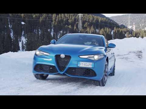 2020 Alfa Romeo Giulia Driving Video