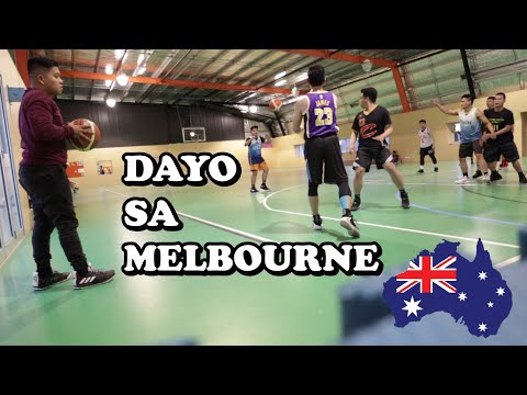 BASKETBALL PICK UP GAME IN MELBOURNE | Itchyboi Tv