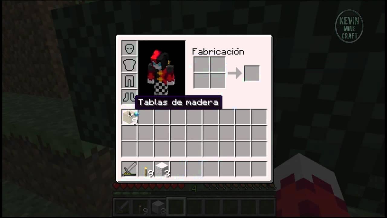 Minecraft como craftear una cama youtube for Cama minecraft