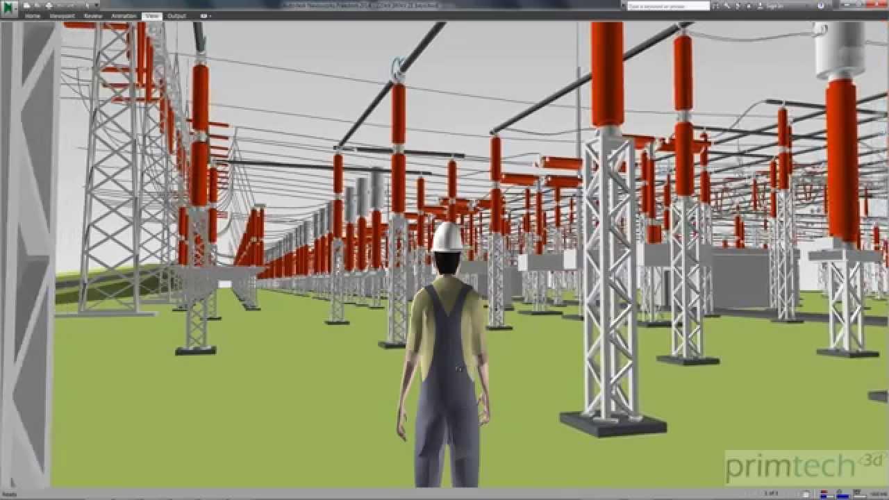 how to make grid substation model