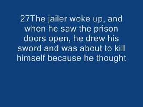 Paul & Silas in Jail