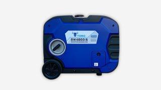 토로 저소음 인버터 발전기 GW4000iS