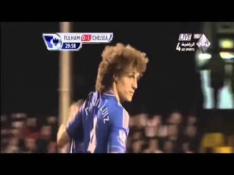 David Luiz Screamer Vs Fulham [HD]