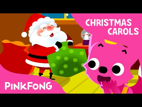 Jolly Old St. Nicholas | Christmas Carols | PINKFONG Songs f