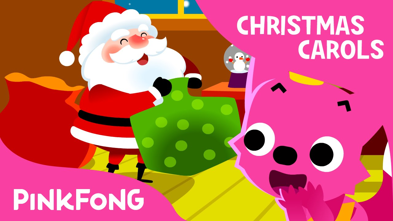 jolly old st nicholas christmas carols pinkfong songs for children youtube. Black Bedroom Furniture Sets. Home Design Ideas