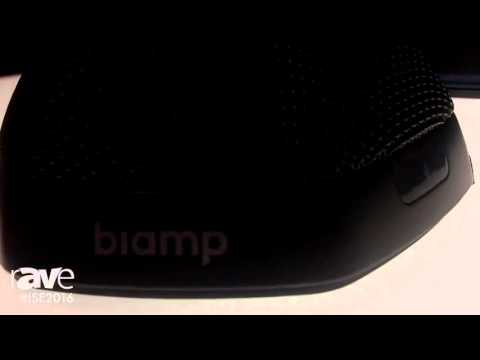 ISE 2016: biamp Systems Debutes its Devio Huddle Room Audio System