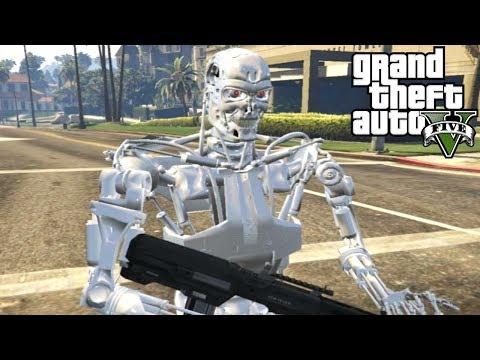 APOCALIPSIS TERMINATOR!! - GTA V Mods