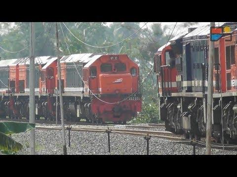 Kereta Api Terbesar dan Terpanjang di Indonesia - TRAINVELING #2