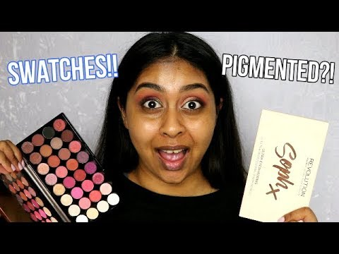 NEW Makeup Revolution Palettes: Soph Palette & Flawless 4 | Swatch Test & Review