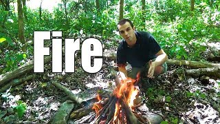 Beginner Backpacking Part 14 - Making a Fire