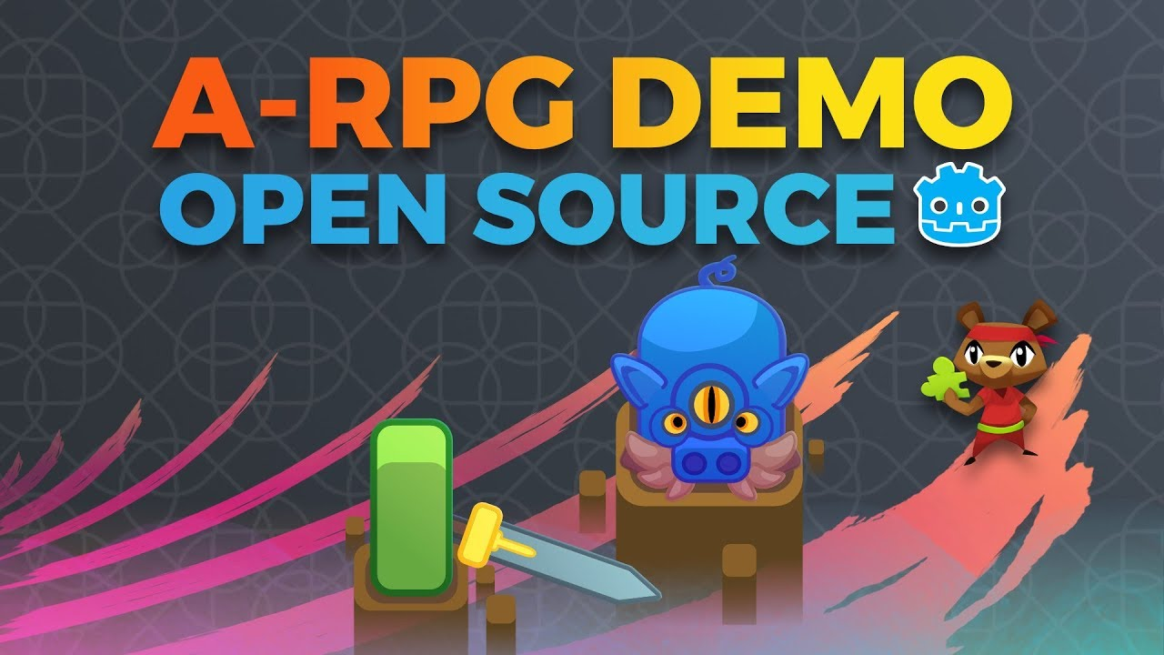 Our Godot A-RPG Demo is Out! Free and Open Source