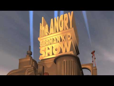 The Angry German Kid show intro, 20th Century Fox style!