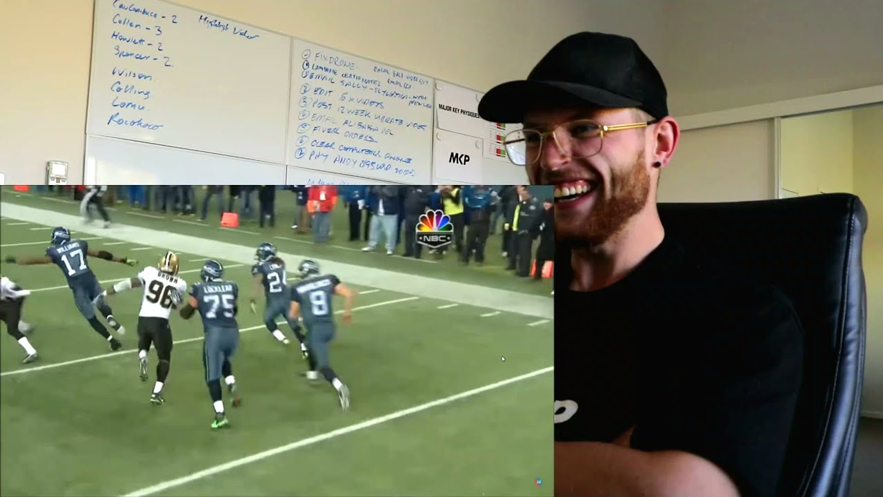 Rugby Player Reacts To Marshawn Lynch Top 10 Plays Of Nfl