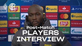 BORUSSIA 2-3 INTER | LUKAKU + DARMIAN + HANDANOVIC EXCLUSIVE INTERVIEWS [SUB ENG]