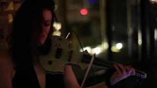 Katya Gabeli live DJ / electric violin set