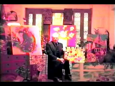 Van Johnson interview in his New York City  art studio